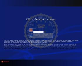 FBI Terminal Logon