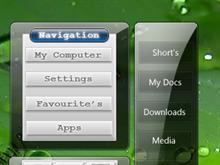 Vista Style Navigation