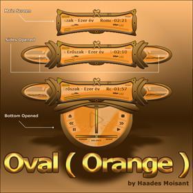 Oval (Orange)