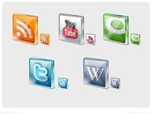 Free Social Icons Part B