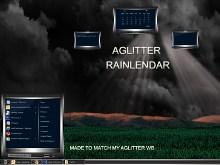 Aglitter Rainlendar