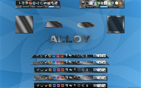 Alloy Dock Backgrounds
