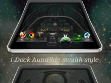 iDock AutoHide stealthstyle