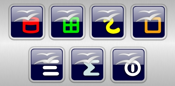 open office icon. OpenOffice Icons