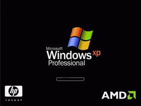Windows XP for AMD based HP computers