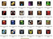 Dave's World of Warcraft (WoW) Iconpackager