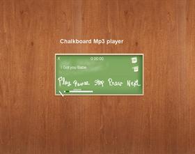 ChalkBoardMp3 W