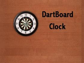 DartBoard Clock