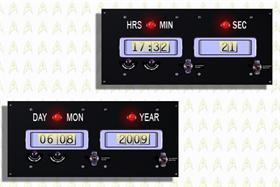 Star Trek Original clock and date