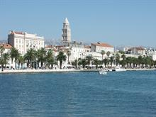Another view on Split boulevard