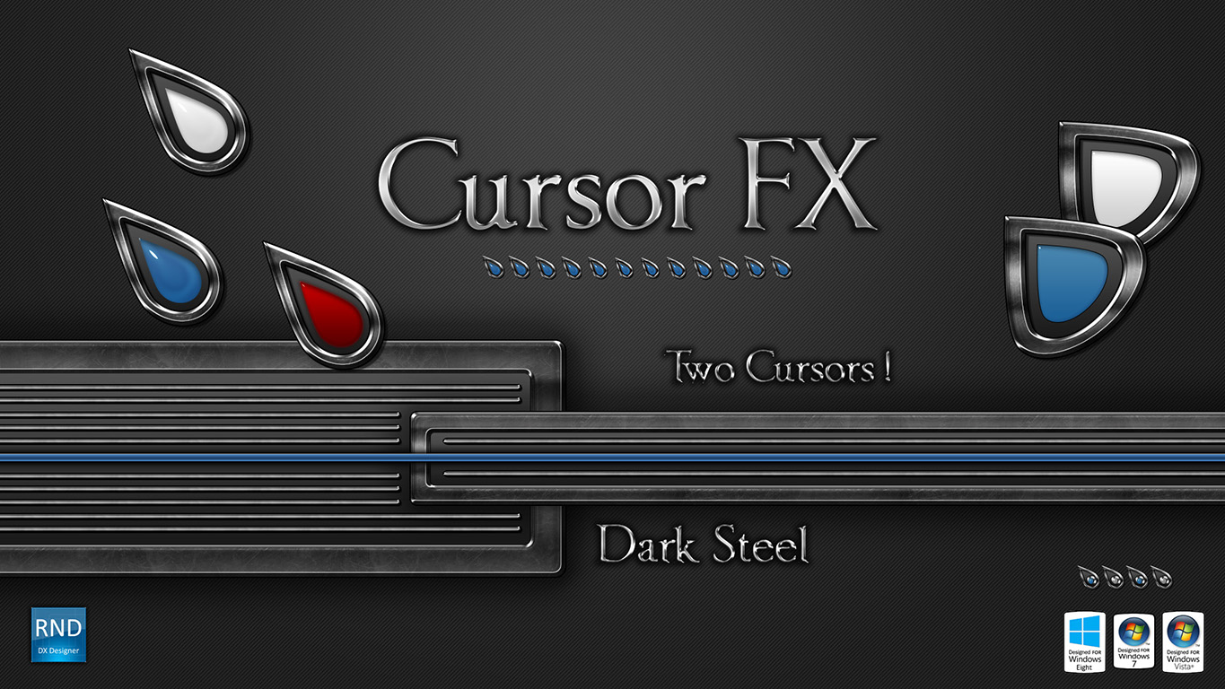 Dark Steel Cursors