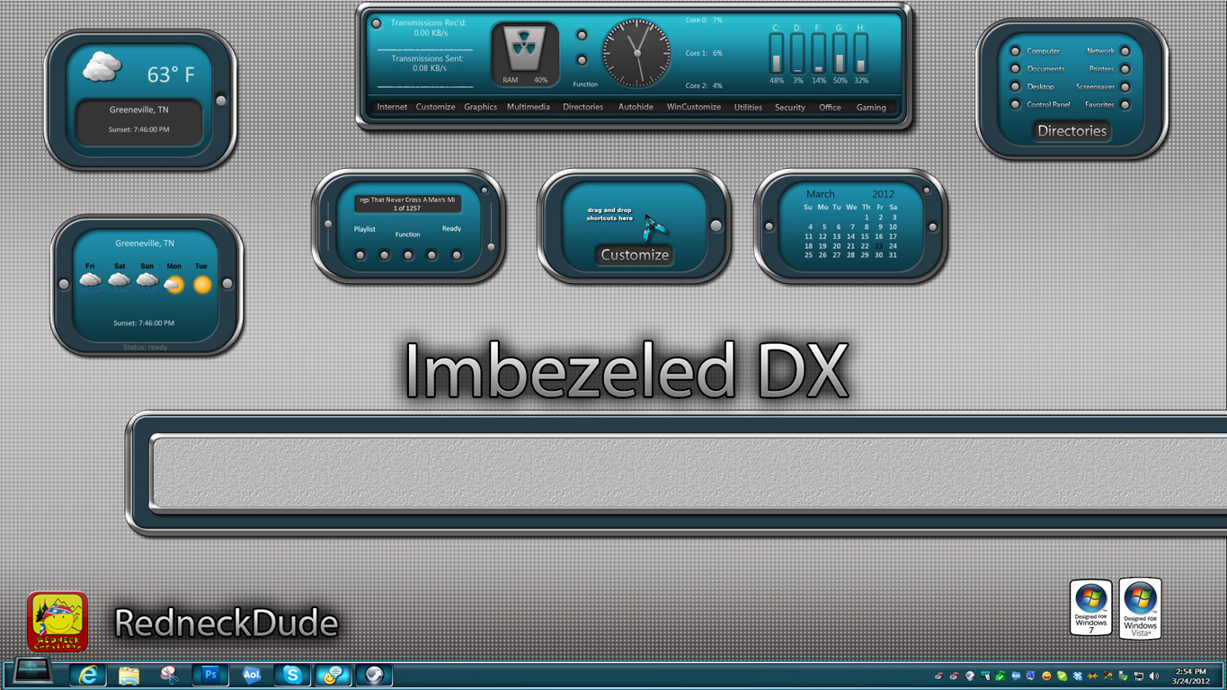 Imbezeled DX