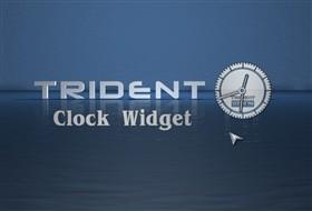 Trident Clock