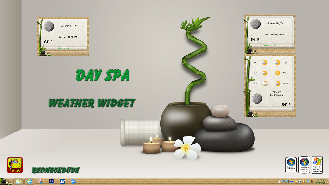 Day Spa Weather Widget