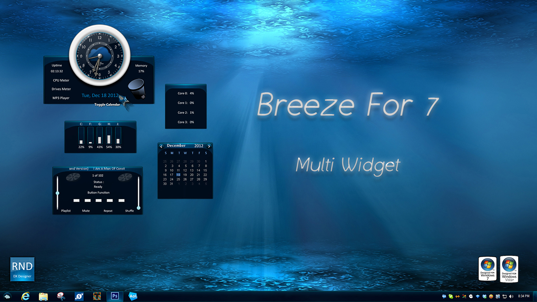 Breeze For 7 Multi Widget