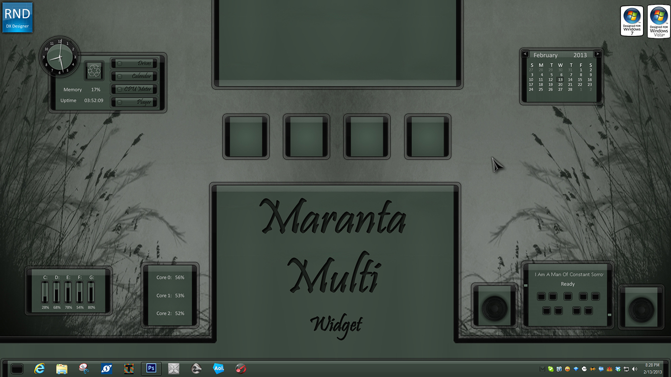 Maranta Multi Widget