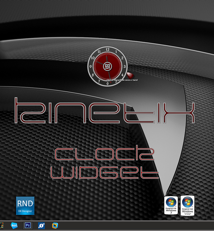 Kinetix Clock Widget