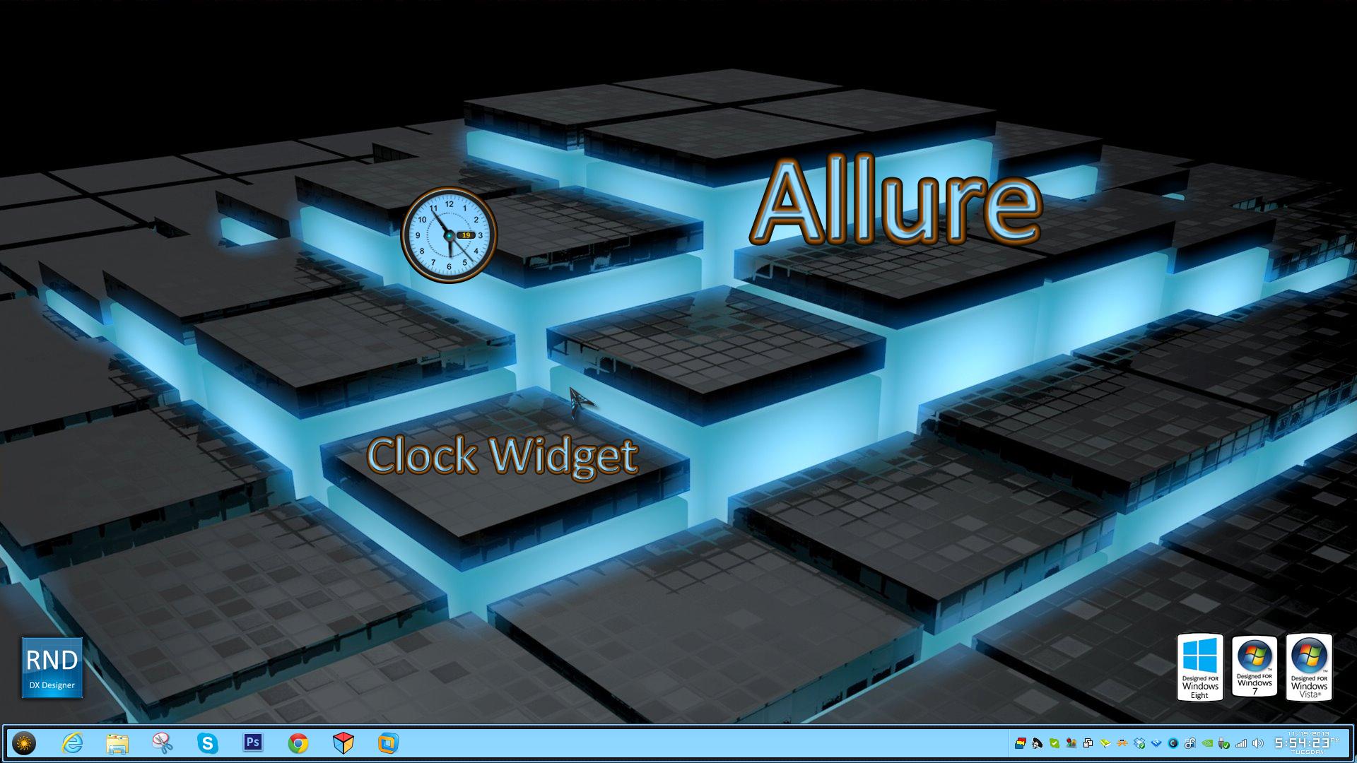Allure Clock
