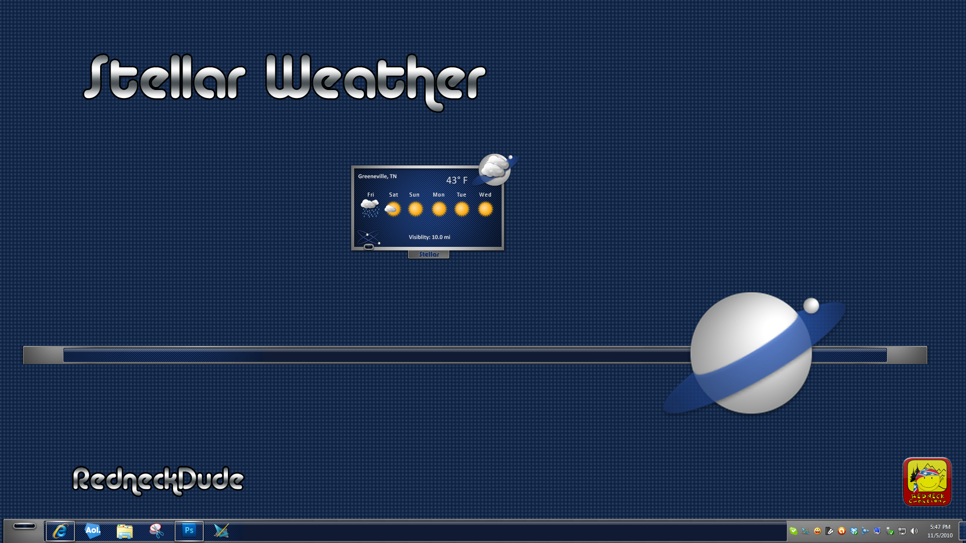 Stellar Weather Gadget