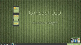 Concept LCD Weather Gadget