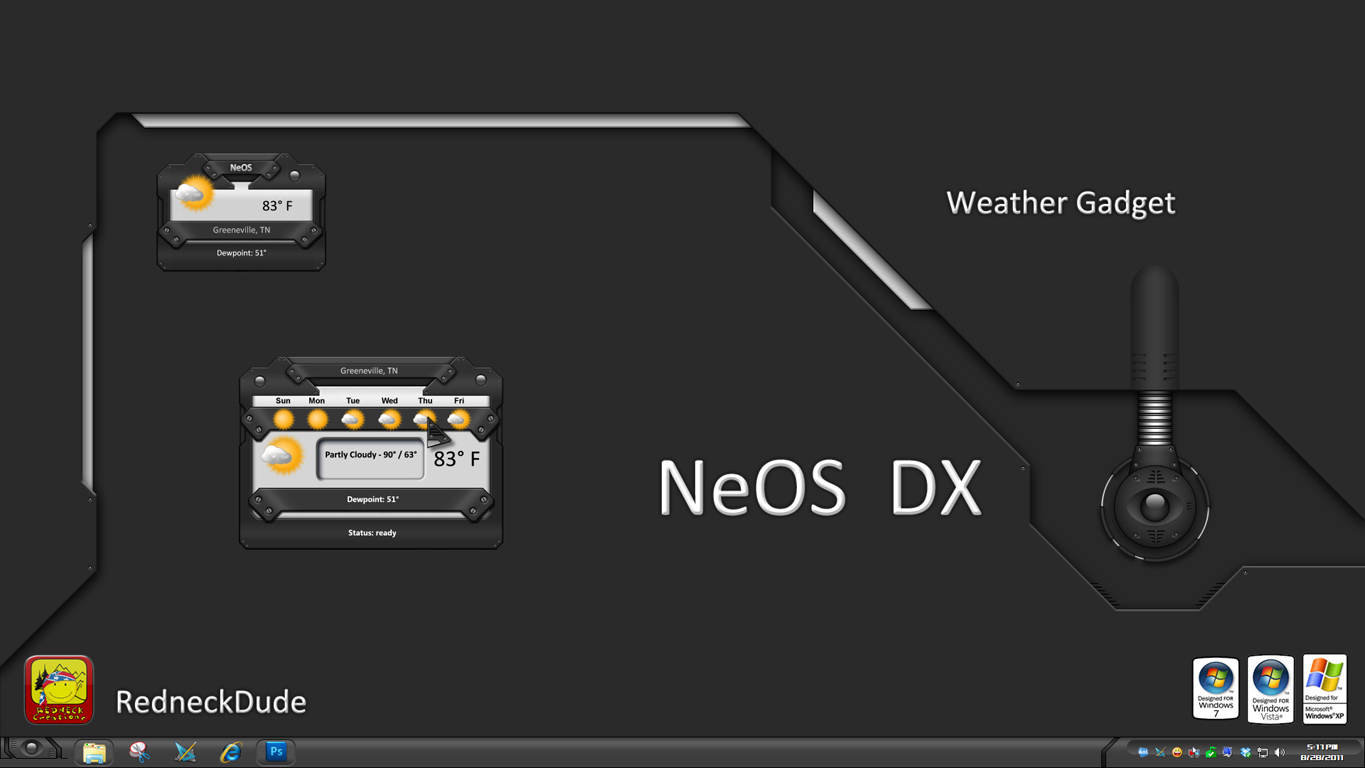 NeOS Weather Gadget