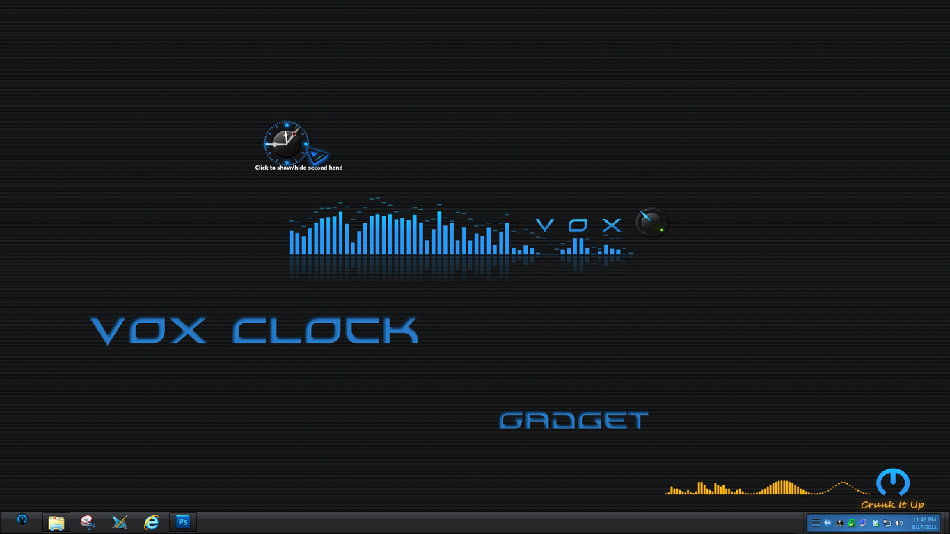VOX Clock Gadget