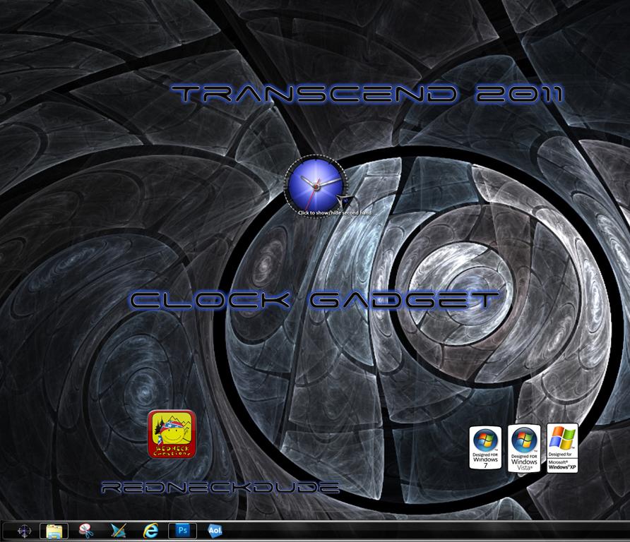 Transcend 2011 Clock Gadget