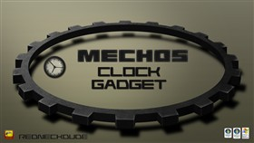 Mechos Clock Gadget