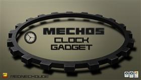 Mechos Clock Gadget