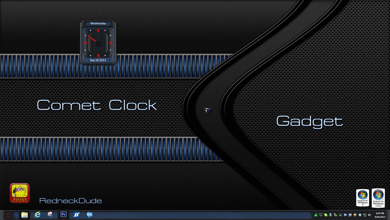 Comet Clock Gadget
