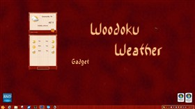 Woodoku Weather Gadget