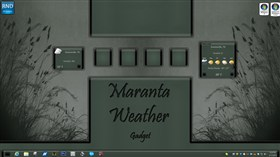 Maranta Weather Gadget