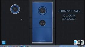 Reaktor Clock Gadget