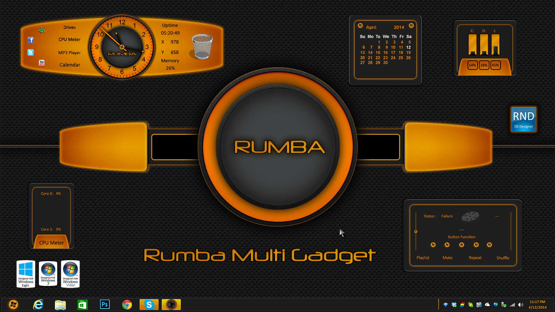 Rumba Multi Gadget