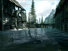 Skyrim River Wheel