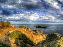 Alderney's South Coast HDR