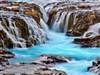 Bruarfoss Waterfalls Iceland by: AzDude
