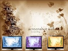 4 little monitors wall