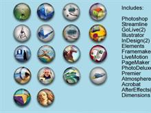 Adobe Mini Globes