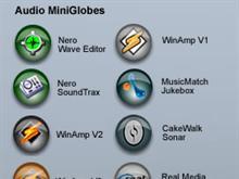 Audio Mini Globes