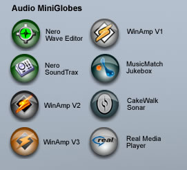 Audio Mini Globes
