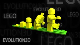 Lego Evolution 3D