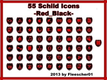 Schild Icons_Red_Black