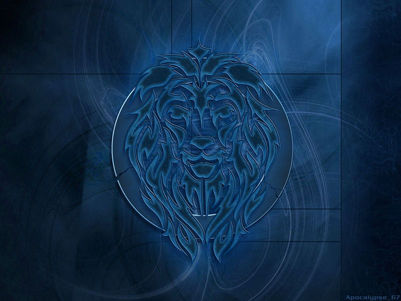 tribal wallpapers. the Tribal Lion wallpaper.