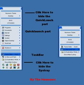 Desktop Bar Blue - English Pack