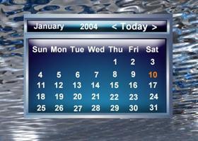 PearlBlue Calendar