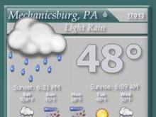 Visus weather widget
