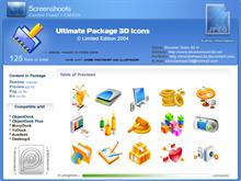 Ultimate Package 3d Icons