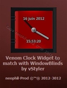 Venom-Clock-Widget_ V_2-0