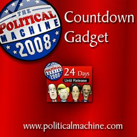 Political Machine 2008 Countdown